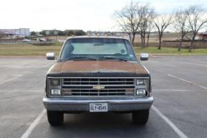 1985 Chevrolet C-10