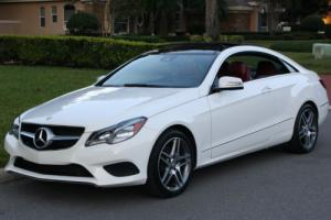 2014 Mercedes-Benz E-Class 4MATIC COUPE - SPORT PKG - 6K MI - WARRANTY