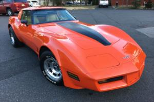 1980 Chevrolet Corvette CORVETTE L48, NUMBERS MATCHING MOTOR AND TRANS