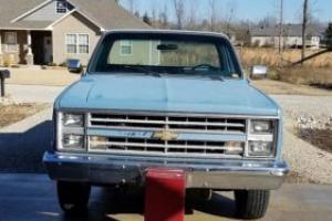 1986 Chevrolet C/K Pickup 2500 Camper Special