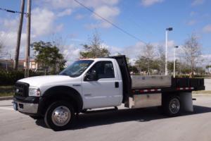 2007 Ford F-450 12 Flatbed FL Truck