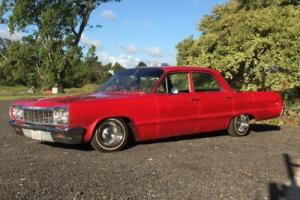 1964 chev impala Sedan Belair 350ci Low rider Classic  Galaxy Cady Parisian