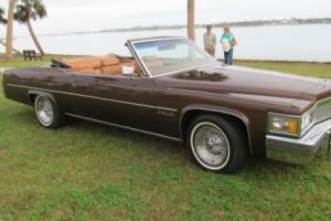 1978 Cadillac DeVille Le Cabriolet