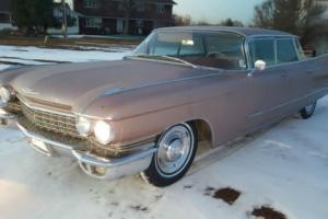1960 Cadillac DeVille Flat Top Sedan De Ville