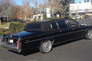 1983 Cadillac Fleetwood Series 75 Factory Limousine - Gold Edition