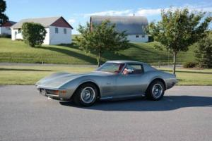 1972 Chevrolet Corvette Pewter/Red*FactA/C*PS*PB