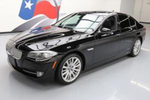 2011 BMW 5-Series 550I SPORT TURBO SUNROOF NAV REARVIEW CAM
