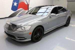 2012 Mercedes-Benz S-Class S550 PANO SUNROOF NAV REAR CAM