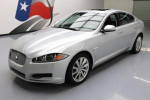 2013 Jaguar XF 2.0T TURBO SUNROOF NAV HTD LEATHER
