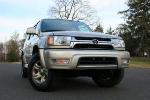 2002 Toyota 4Runner Limited  4WD Heated Seats Sunroof 4x4 No Rust