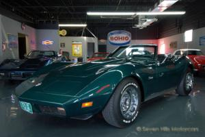 1973 Chevrolet Corvette #'s Match Convertible
