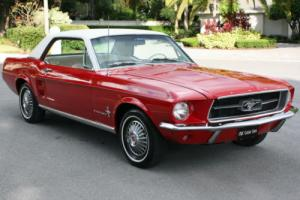 1967 Ford Mustang CALIF - A/C