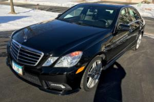 2011 Mercedes-Benz E-Class E350 with AMG Sports package