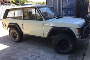 Range Rover Classic 2 Door - D Suffix