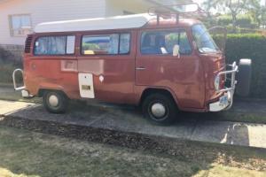 VW VOLKSWAGEN KOMBI POPTOP CAMPERVAN 1976