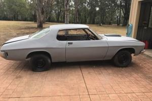Holden hq 2 door monaro 74 resto, project, rolling shell