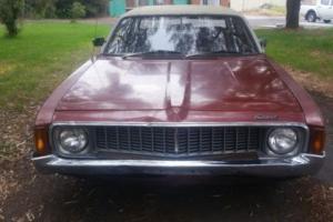 Chrysler Valiant 1973 VJ Ranger sedan Mopar Hemi 6 cyl Auto gas suit restoration