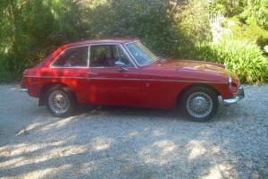 MGB GT 1973, manual with overdrive