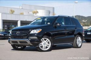 2014 Mercedes-Benz M-Class CERTIFIED 2014 MB ML350 w/ Blind Spot Assist