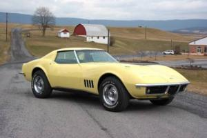 1968 Chevrolet Corvette #s matching 427ci/390hp L36 w/ Protect O Plate Photo