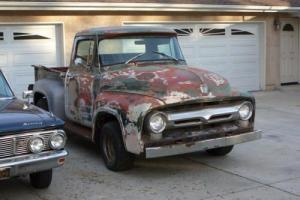 1956 FORD F100 272 V8 3 SPEED MANUAL
