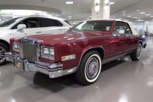 1984 Cadillac Eldorado --