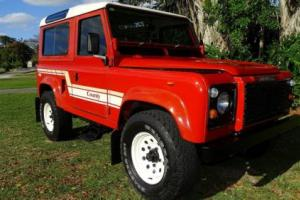 1986 Land Rover Defender 90 COUNTY STATION WAGON