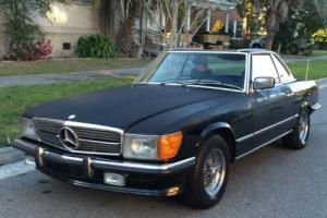 1978 Mercedes-Benz SL-Class 1 owner 280SL, M110, 4-SPEED MANUAL