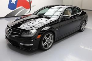2012 Mercedes-Benz C-Class CAMG COUPE PANO ROOF NAV