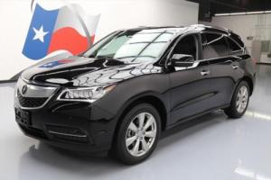 2015 Acura MDX ADVANCE SUNROOF NAV DVD REAR CAM
