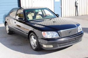 2000 Lexus LS 4.0L V8 Automatic Sedan 25 mpg