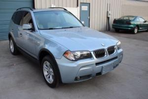 2006 BMW X3 3.0i Premium Package All Wheel Drive SUV