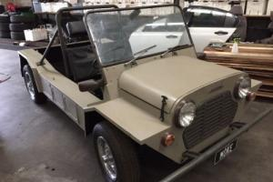 Morris Leyland Mini Moke 1100cc with NO rust 9 years in a barn but now ready 2go Photo