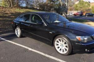 2006 BMW 7-Series 750i 4dr Sedan Sedan 4-Door Automatic 6-Speed