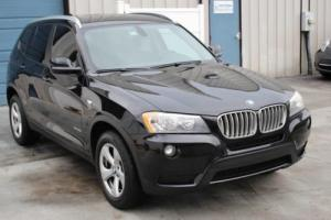 2011 BMW X3 28i Premium Package All Wheel Drive 8 Speed Automatic SUV