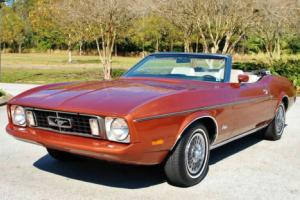 1973 Ford Mustang Convertible 302 V8 Auto Factory Air One Owner!