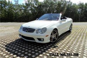 2007 Mercedes-Benz CLK-Class CLK63AMG Convertible Carfax certified Mint conditi