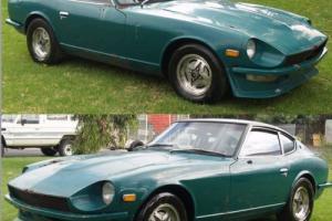 Datsun 260Z barn find 2 seater auto 7/1974 Same body as 240Z Burwood Victoria
