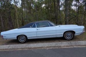 """1968 MERCURY MARQUIS 2 DOOR HARDTOP 390 4V C6 9"""" TILT COLUMN BUCKET SEAT GALAXIE Photo"""