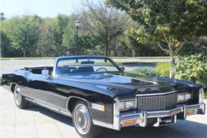1976 Cadillac Eldorado Convertible Absolutely Beautiful! Fully Documented Photo