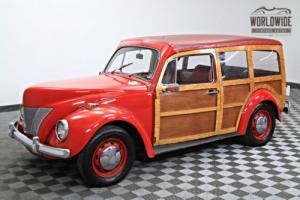 1940 Ford Woody (Woodie) Wagon. 4-Speed. Runs and Drives Great! Photo