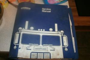 Freightliner Custom Service Repair Parts, Maintenance, Manual Book CHECK PICTURE Photo