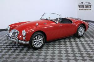 1961 MG MGA $20K RESTORATION. SHOW CAR