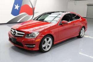 2013 Mercedes-Benz C-Class C250 COUPE SUNROOF ALLOY WHEELS