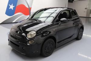 2013 Fiat 500 E ELECTRIC HEATED SEATS SUNROOF NAV