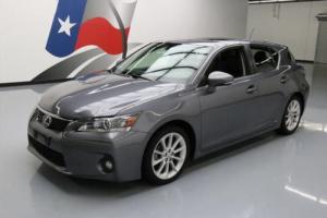 2012 Lexus CT 200h PREM HYBRID SUNROOF NAV HTD SEATS