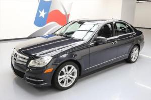 2014 Mercedes-Benz C-Class C250 LUXURY SUNROOF REAR CAM