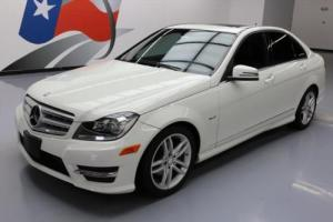 2012 Mercedes-Benz C-Class C250 SPORT TURBO SUNROOF