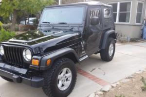 2003 Jeep Wrangler X Sport