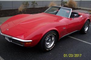 1972 Chevrolet Corvette -STINGRAY-CONVERTIBLE Photo